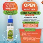 Open Reseller Hand Sanitizer 100 mL