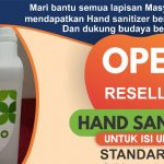Open Reseller Hand Sanitizer Untuk Isi Ulang